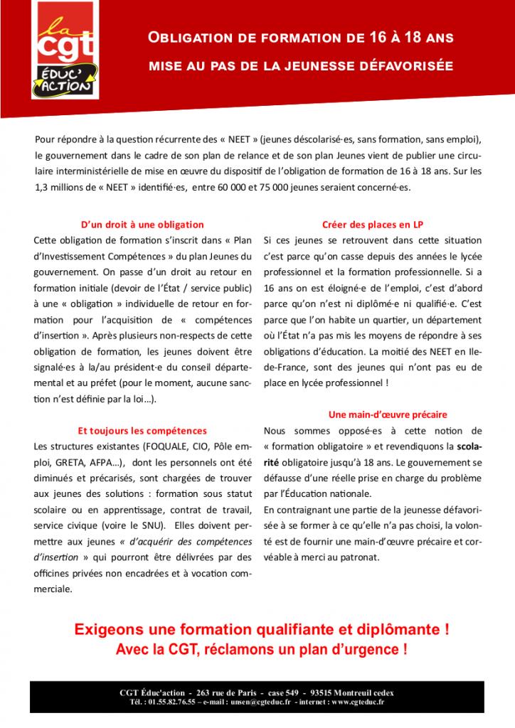Tract Obligation de formation Inserjeune_MS